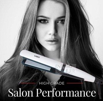 Професійний праска-випрямляч для волосся VGR щипці для волосся з регулюванням температури V-512