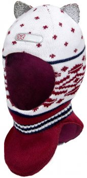 Зимняя шапка-шлем David's Star 16343 50 Бордо (ROZ6400024544)