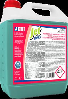 Активна піна для видалення застарілої накипу, вапняних відкладень Kiter JET 5 5л