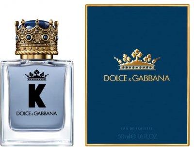 Туалетная вода для мужчин Dolce&Gabbana K By Dolce&Gabbana 50 мл (3423473042853)