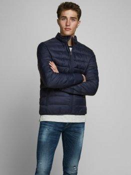 Куртка Jack Jones JJEMAGIC PUFFER COLLAR NOOS Темно-синий 12173752NaviBlazer