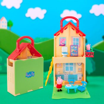 Игровой набор Peppa Pig Дом Пеппы Раскладывай и играй (PEP0700)