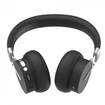 Бездротові навушники Fingertime P3 Wireless Bluetooth Headphones Set з вбудованим MP3-програвачем та FM-радіо модулем, Чорний