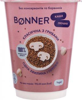 Упаковка каші гречаної Bonner класичної з грибами 60 г х 5 шт. (3000030030159)