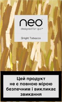 Блок стиків для нагрівання тютюну glo Hyper Neo Demi Bright Tobacco 10 пачок (4820215622196)