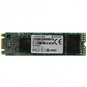 Накопичувач SSD M. 2 2280 128GB Transcend (TS128GMTS830S)