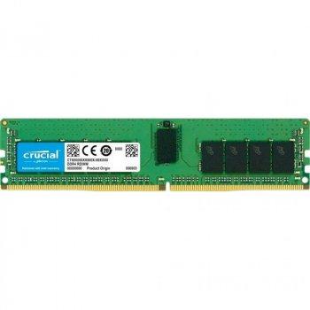 Модуль пам'яті для сервера DDR4 16GB ECC RDIMM 3200MHz 1Rx4 1.2 V CL22 MICRON (MTA18ASF2G72PZ-3G2J3)