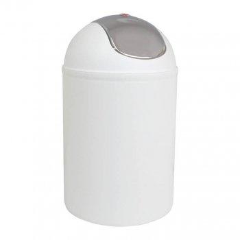Відро для сміття Trento Deco 5л білий