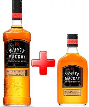 Виски Whyte&Mackay 1 л 40% + Виски Whyte&Mackay 0.35 л 40% (5010196348263)
