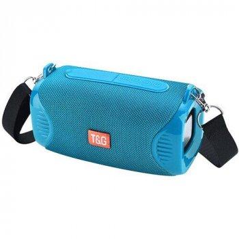 Bluetooth-колонка TG532, c функцією speakerphone, радіо, PowerBank, aquamarine