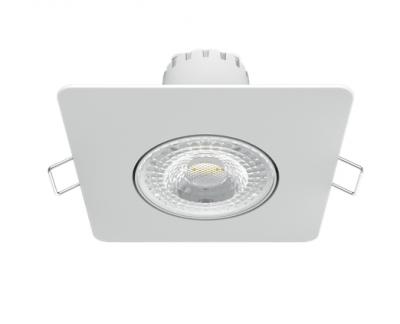 Світильник Гаусса Квадрат. Білий, 6W,90х90х56, Ø65мм 520 Lm LED 4100K