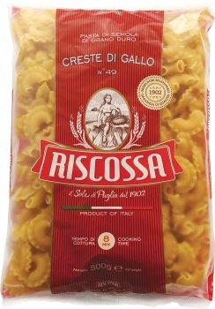 Упаковка макарон Riscossa Creste Di Gallo 500 г х 4 шт (18011780009496)