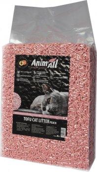 Наполнитель для кошачьего туалета AnimAll Тофу с ароматом персика Соевый комкующий 2.6 кг (6 л) (2000981139025/4820224500362)