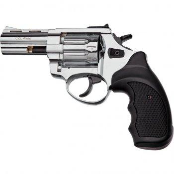 """Револьвер під патрон Флобера STALKER 3"""" 4 мм Black Nickel (ST3SN)"""