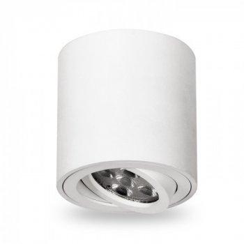 Накладной поворотный светильник Feron ML302 белый 80*90мм