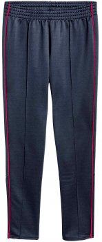 Спортивные штаны H&M 4633694 Темно-синие с красным
