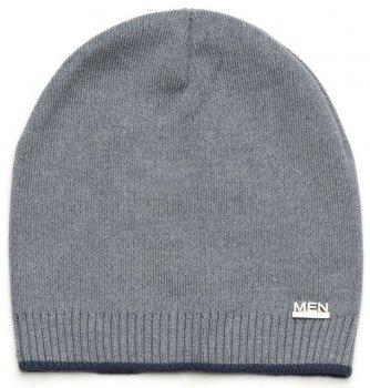 Демисезонная шапка Модный карапуз 03-00923 48-50 см Темно-серая (4824126839230)