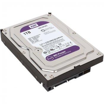Жесткий диск Western Digital 1ТБ 3.5'' 5400об/мин 64МБ SATAIII Purple (WD10PURZ) New