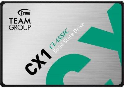 """Team CX1 480GB 2.5"""" SATAIII 3D TLC (T253X5480G0C101)"""