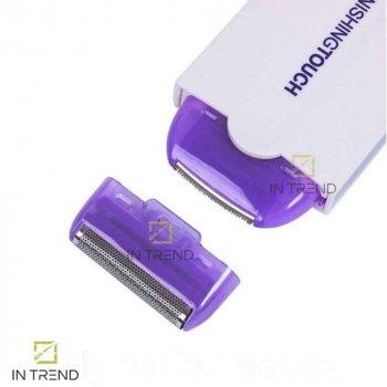 Женский эпилятор TOP FINISHNG TOUCH хороший безболезненный – электрическая эпиляция удаление волос на лице в зоне бикини – электрический триммер электробритва для лица для бровей, аккумуляторный