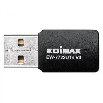 Беспроводной адаптер Edimax EW-7722UTN v3 (N300, mini)