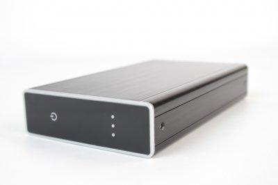 """Накопичувач зовнішній HDD 3.5"""" USB 3ТВ TrekStor DataStation Maxi Metal (TS35-3000KLB)"""