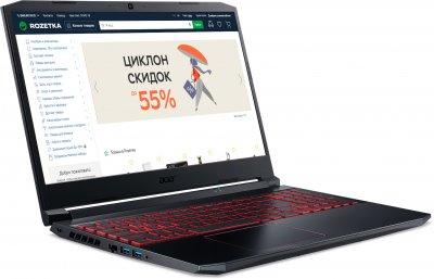 Ноутбук Acer Nitro 5 AN515-44-R8BU (NH.Q9HEU.00H) Obsidian Black