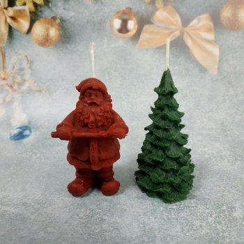 Набір Свічок Новорічний з 2 предметів в подарунковій упаковці 10112007