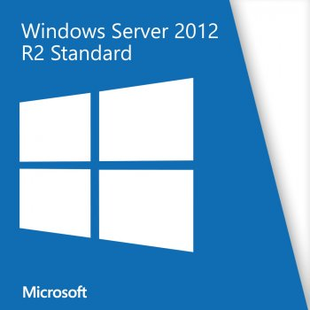 Серверна операційна система Microsoft Windows Server 2012 R2 Standard x64 Russian OEM DVD 2CPU/2VM (P73-06174)