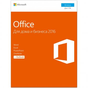 Офісне додаток Microsoft Office 2016 Home and Business 32/64bit Russian DVD BOX (T5D-02290)
