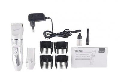 Машинка для стрижки Kemei KM-6688 зі знімним акумулятором