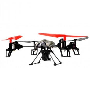 Квадрокоптер радиоуправляемый WL Toys V979 Spray игрушка с водяной пушкой трёхосевым гироскопом 4 скоростями полёта и акробатическими 3D переворотами (WL-V979)