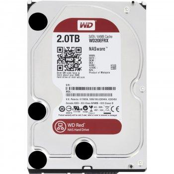 """Жорстку диск для серверів 2TB Wd 3.5"""" SATA 3.0 5400 64MB Red NAS (20EFRX)"""