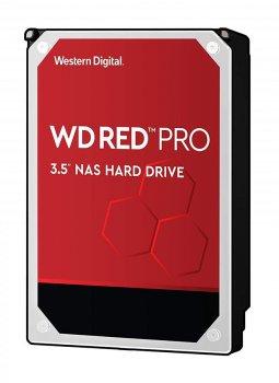 """Жорстку диск для серверів Wd 12TB 3.5"""" SATA 3.0 7200 256MB Red Pro NAS (121KFBX)"""