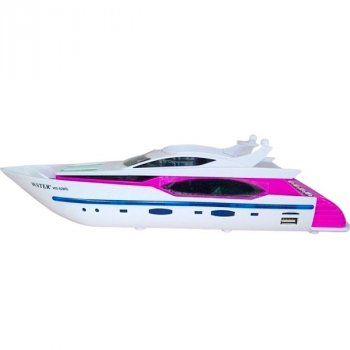 Портативная беспроводная колонка в виде яхты, розовая