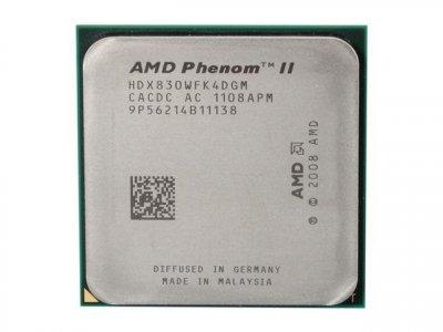 AMD Phenom II X4 830, Tray (HDX830WFK4DGM)