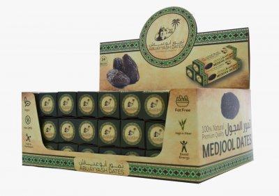 Фініки сушені Medjool Large Premium упаковка 24 шт по 60 г