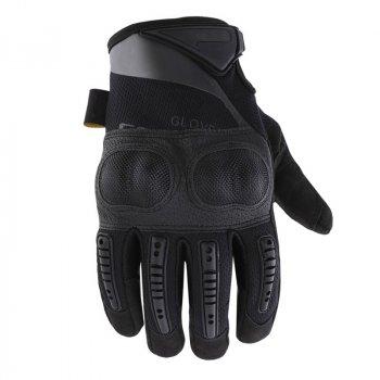 Мужские перчатки тактические полнопалые Lesko E005 Black M