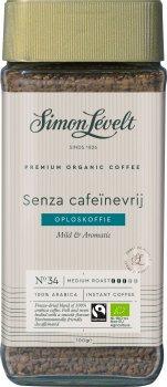 Кофе растворимый Simon Lévelt 100% Арабика Без кофеина 100 г (8711138393309)