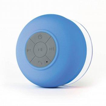 Бездротова водонепроникна портативна акустична система Bluetooth колонка сабвуфер для душу ванни сауни, басейні Bath Beats TWOOC Блакитна