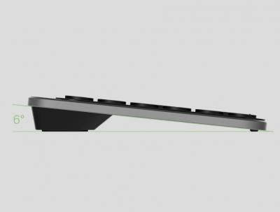 Бездротова клавіатура MiiiW AIR85+ Bluetooth Dual Mode (MWBK01) MAC/iPad/PC (UA) Black