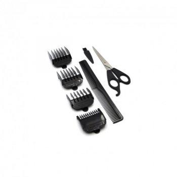 Профессиональная проводная Машинка для стрижки волос GoVern GM-815a (Gemei) сетевая Черная (3348)
