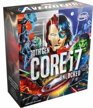 Процесор Intel Core i7-10700KA s1200 Avengers Edition (BX8070110700KA) (F00228934)