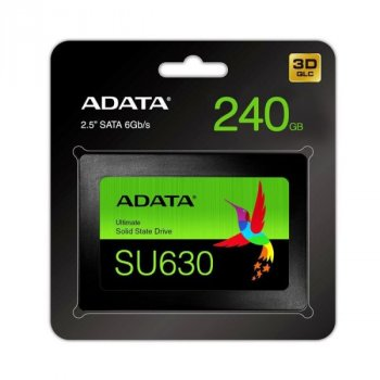 "SSD накопичувач ADATA SATA 2.5"" 240GB SU630 3D QLC (ASU630SS-240GQ-R)"