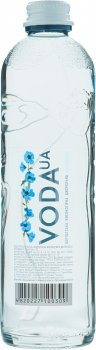 Упаковка воды питьевой негазированной VodaUA Карпатская высокогорная родниковая 0.4 л х 12 бутылок (480227100309)