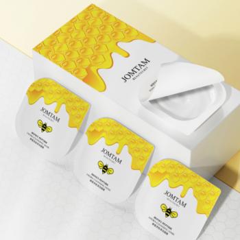 Упаковка ночных масок Jomtam Sweet Honey peptide c экстрактом меда 7.5 г х 6 шт (6925346319590)