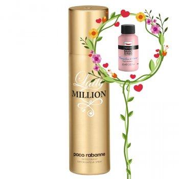Жіноча парфумерія PACO RABANNE LADY MILLION 150 МЛ (3349668508525)