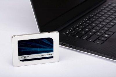 """Твердотільний Накопичувач SSD Micron 1TB 2.5"""" Crucial MX500 SATA 3D TLC (CT1000MX500SSD1)"""