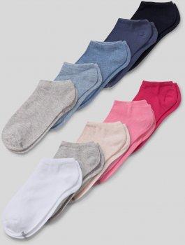 Набор носков C&A 224-48-79440-608D 10 пар Синий/Розовый/Серый