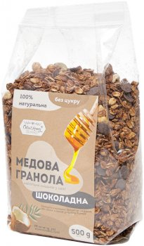 Гранола Oats&Honey шоколадная пленка 500 г (4820013333959)